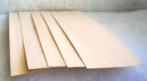 """Balsa Wood Sheet 15mm x 4"""" x 40"""""""