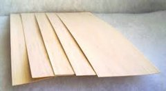 "Balsa Wood Sheet 8mm x 4"" x 40"""