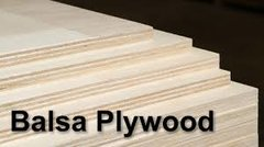 "Balsa Plywood Sheet 1/8"" x 900mm x 900mm"