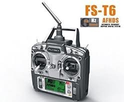 Flysky FS Newest Model FS-T6 2.4G AFHDS 6 Channel Radio System