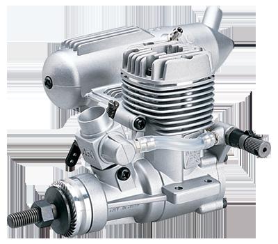O.S. MAX .25 LA RC Airplane Engine with 1 Litre Nitro Fuel