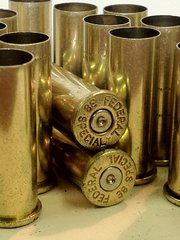 .38 Special, 'Federal', Used Pistol Brass 100pk