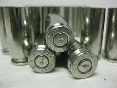 10 mm Auto, Assorted Mfgr, Nickel Plated 100