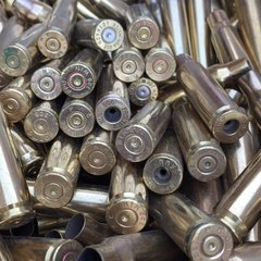 .308 Win, Assorted Civilian Brand, used brass, w/o crimp,100 pk