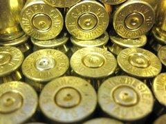 .45 ACP, 'Winchester', used brass 100 pk