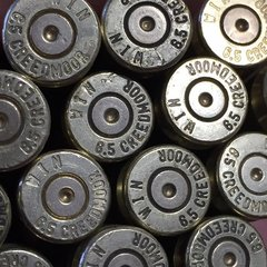 6.5 Creedmoor, 'Winchester', rifle brass cases. 20 pk