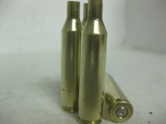 6mm Rem, Assorted Brand, used brass cases 20 pk