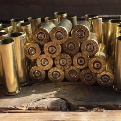 .357 Magnum, 'Remington', Used Brass cases, 100 pack.