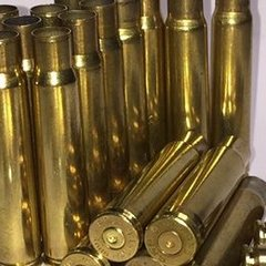 8mm Mauser 8X57mm Used Brass cases. 20pk