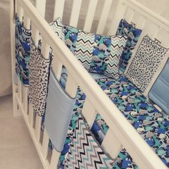 Boys Designer Dinosaur Cot Bedding Set