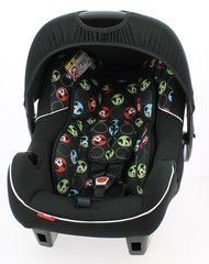 Disney 0+ Car Seat - Mickey Circles (with stroller adaptor)