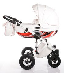 DaVos moto style 2in1 travel system - Red