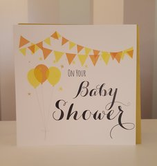 On Your Baby Shower Greeting Card
