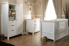 Stamford Cot Bed 3 piece nursery furniture set - Various colours