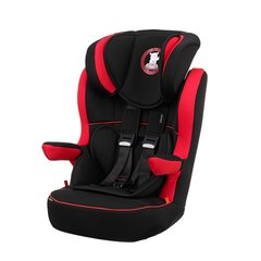 B is for Bear Group 1-2-3 High Back Booster Car Seat - Red