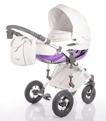 DaVos moto style 2in1 travel system - Purple