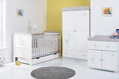 Disney Winnie the Pooh Dreams & Wishes 3 piece nursery furniture set