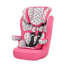 Obaby Group 1-2-3 High Back Booster Car Seat - Cottage Rose