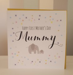 Happy 1st Mothers Day Greeting Card