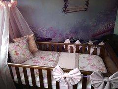 Custom Designed Enchanted Fairy Cot Bedding