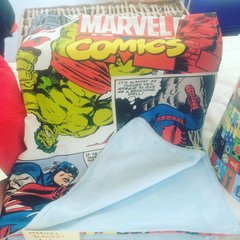 Snuggly Marvel Comics Blankie