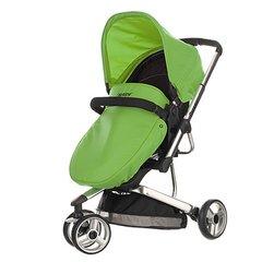 Chase 3 Wheeler Pramette - Lime Green