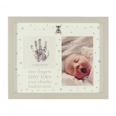 Photo frame print tiny fingers & ink pad