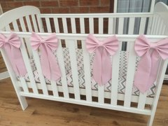 Beautiful cot bows - various colours