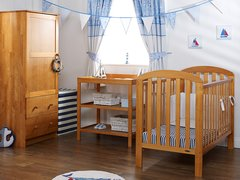 Lily 3 piece nursery furniture set - Various colours