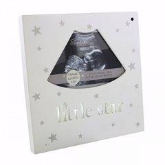 'Little Star' light up MDF scan frame