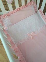 Vintage inspired baby girl bedding set