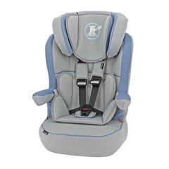 B is for Bear Group 1-2-3 High Back Booster Car Seat - Blue