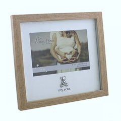 'My scan' wood effect photo frame
