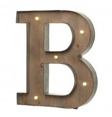 LED Light Up Letter 'B' (B is for baby)