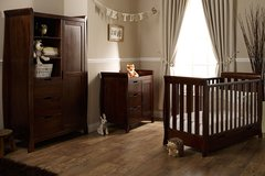 Lincoln Mini Cot Bed 3 piece nursery furniture set - Various colours