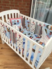 Funky Pirate Cot Bedding Set