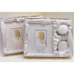 Baby frame & keepsake box set