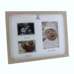 Wood effect scans & photo frame