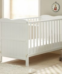 Saplings Sophie Cot Bed - White