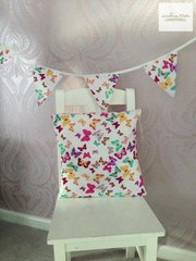 Butterfly Cushion and Bunting Set