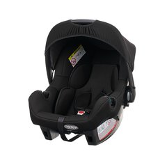 Zeal 0+ Car Seat - Black (with stroller adaptor)