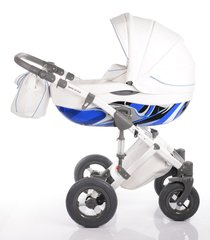 DaVos moto style 2in1 travel system - Blue