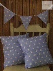 Star Cushion and Bunting Set