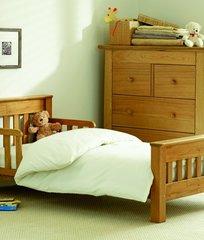 Saplings Warwick Junior Bed - Natural Oak