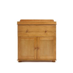 Closed Changing Unit in Country Pine