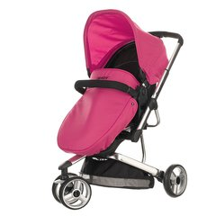 Chase 3 Wheeler Pramette - Pink