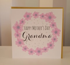 Happy Mothers Day Grandma Greeting Card