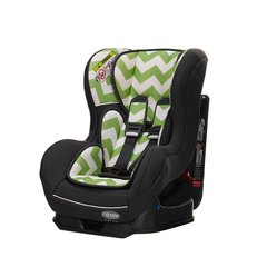 Zeal 0-1 Combination Car Seat - Lime Green ZigZag