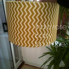 Single tier lightshade - chevrons