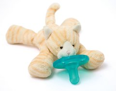 Tabby Kitten WubbaNub Pacifier